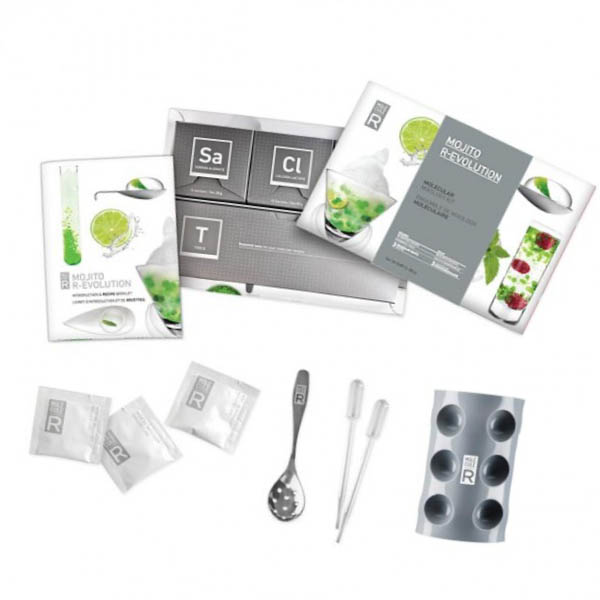 Molecule-R Molecular Mojito Kit - mixology for beginners!